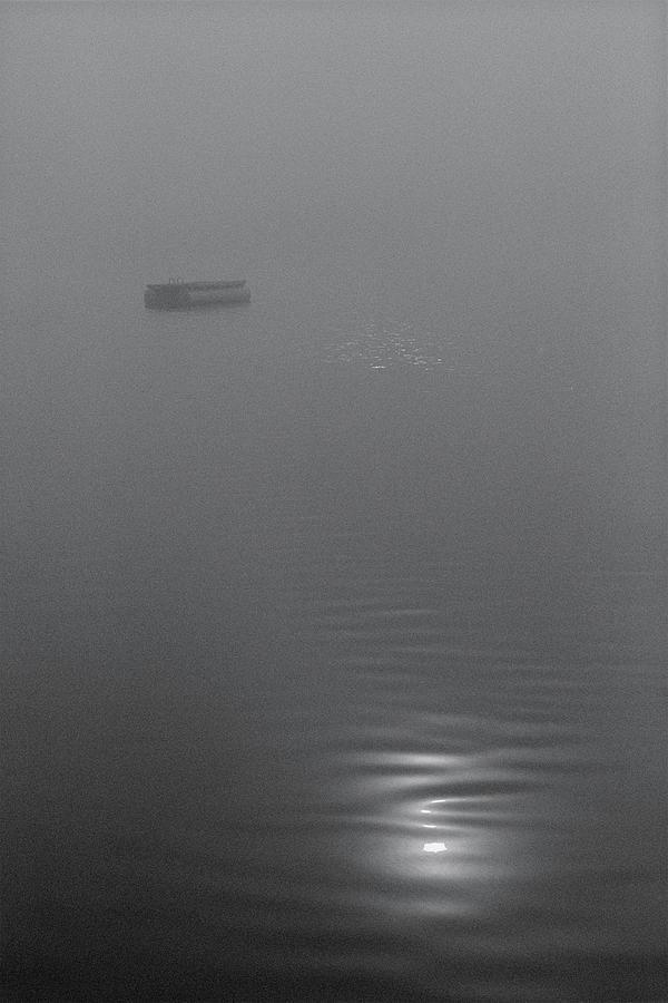 Fog Photograph - Adrift by Bruce Thompson