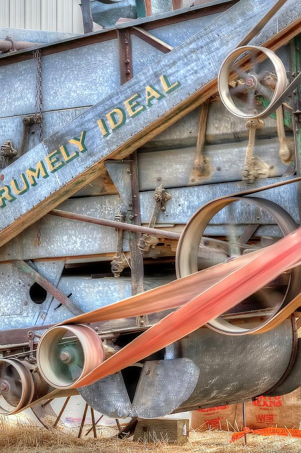 Advance Rumely Ideal 2 3407 Photograph