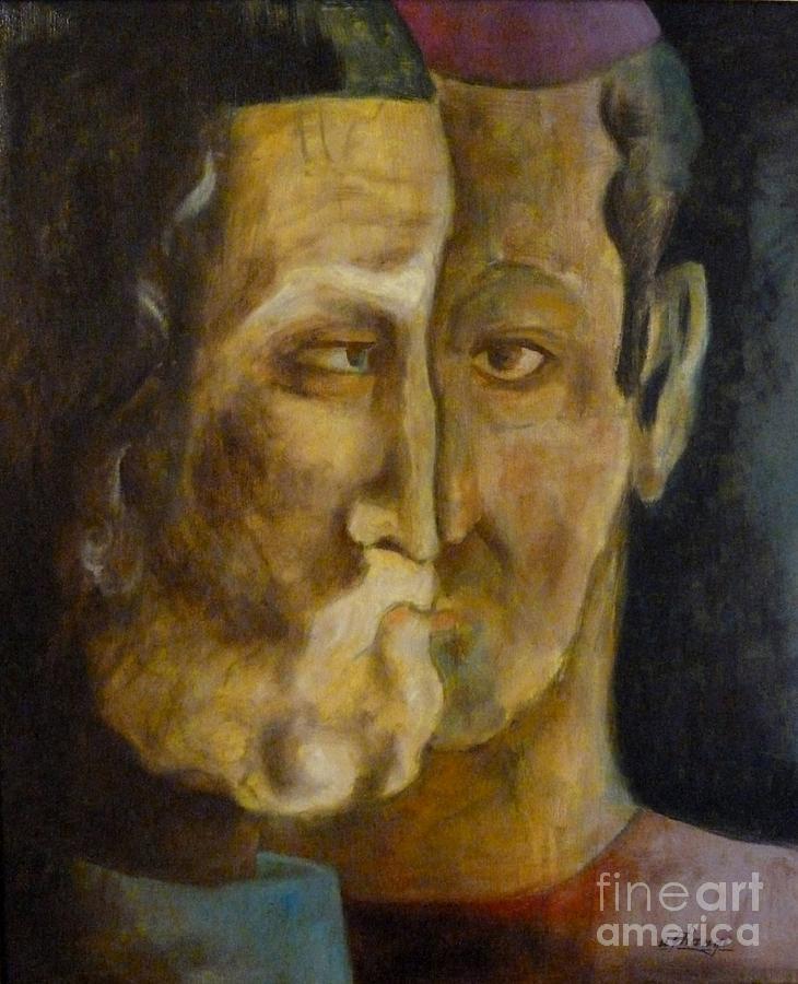 Advice Painting - Advice by Ushangi Kumelashvili