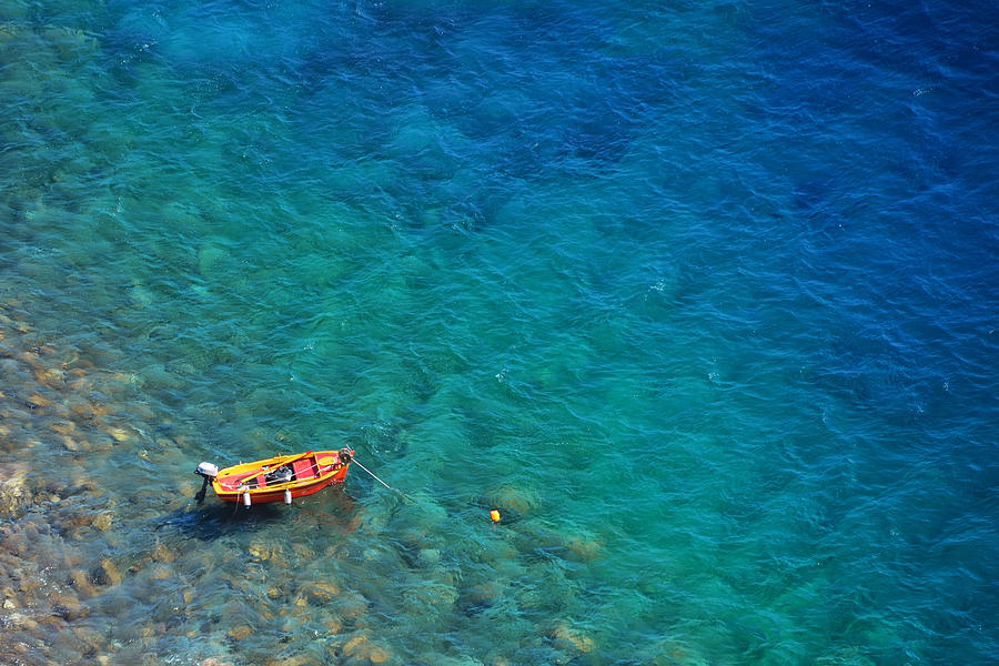 Greece Photograph - Aegean Sea by Songquan Deng