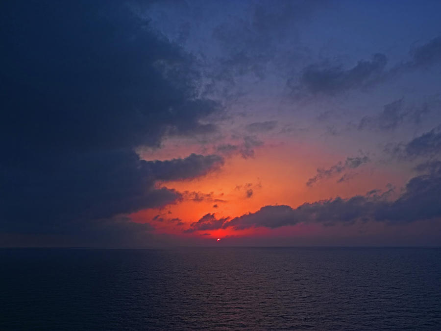 Aegean Sunrise 1 by S Paul Sahm
