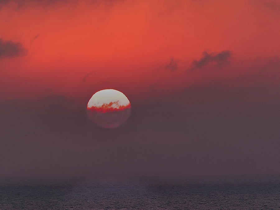 Aegean Sunrise 2 by S Paul Sahm