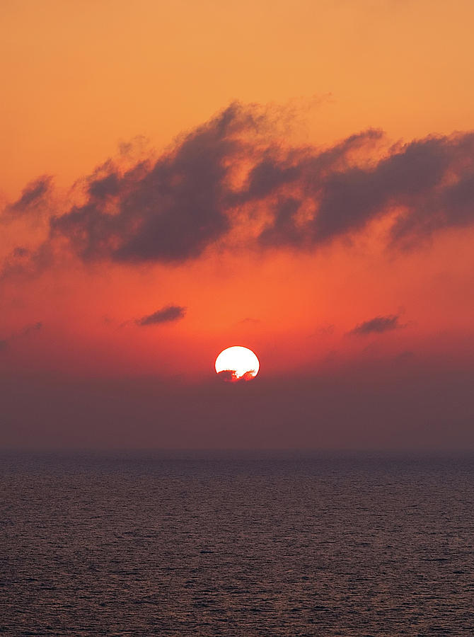 Aegean Sunrise 3 by S Paul Sahm
