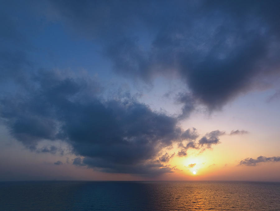 Aegean Sunrise 4 by S Paul Sahm