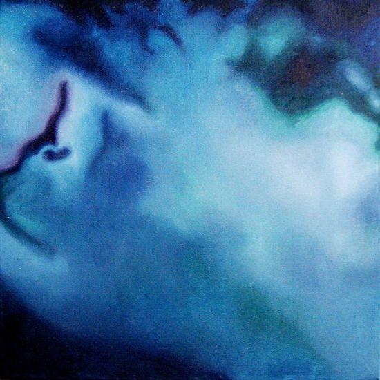 Sea Painting - Aerial Blue by Jennifer Webb
