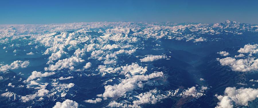 Landscape Photograph - Aerial View by Nikos Stavrakas