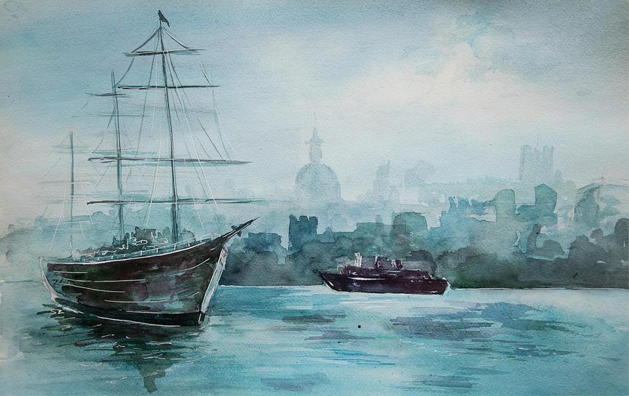 Af Chapman Painting - af Chapman by Alexandra-Emily Kokova