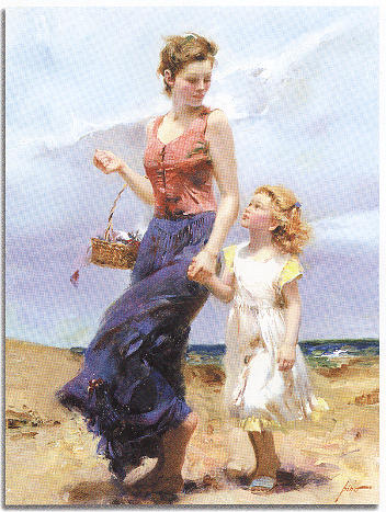 Pino Painting - Affection by Pino Daeni