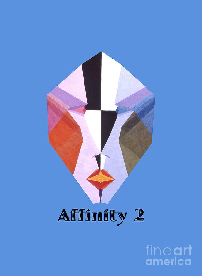 Tarot Painting - Affinity 2 text by Michael Bellon