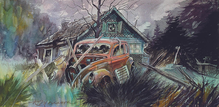 Ford Painting - Affordable by Ron Morrison