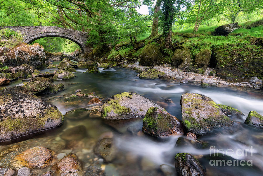 Bridge Photograph - Afon Lledr Bridge by Adrian Evans