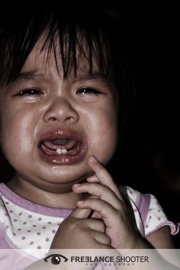 Young Girl Photograph - Afraid In The Dark by Jon Guzman
