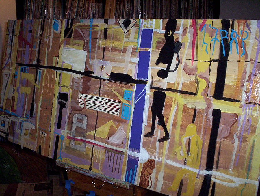 Abstract Painting - Africa 2010 by Otis L Stanley