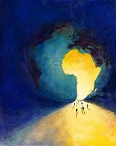 Metaphors Painting - Africa by Andrew Judd