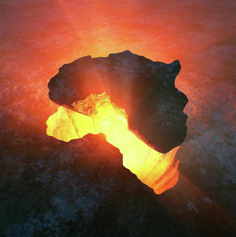 Africa Conceptual Design Photograph