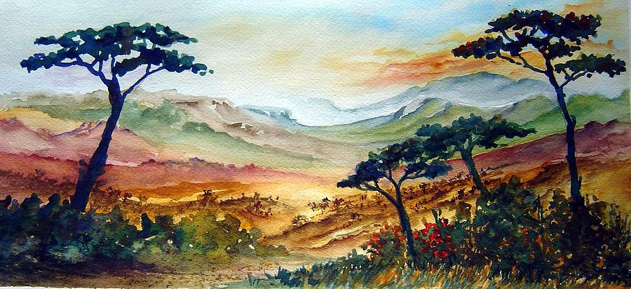 Africa Painting - Africa by Joanne Smoley