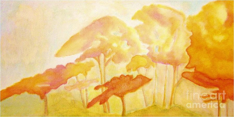 Nature Painting - Africa by Mimo Krouzian