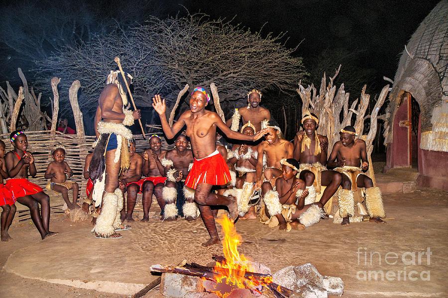 African Fire Dance