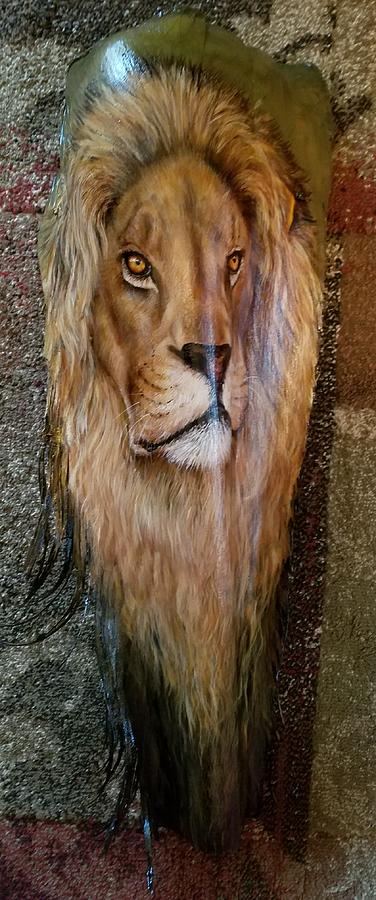 African Lion 2 by Nancy Lauby