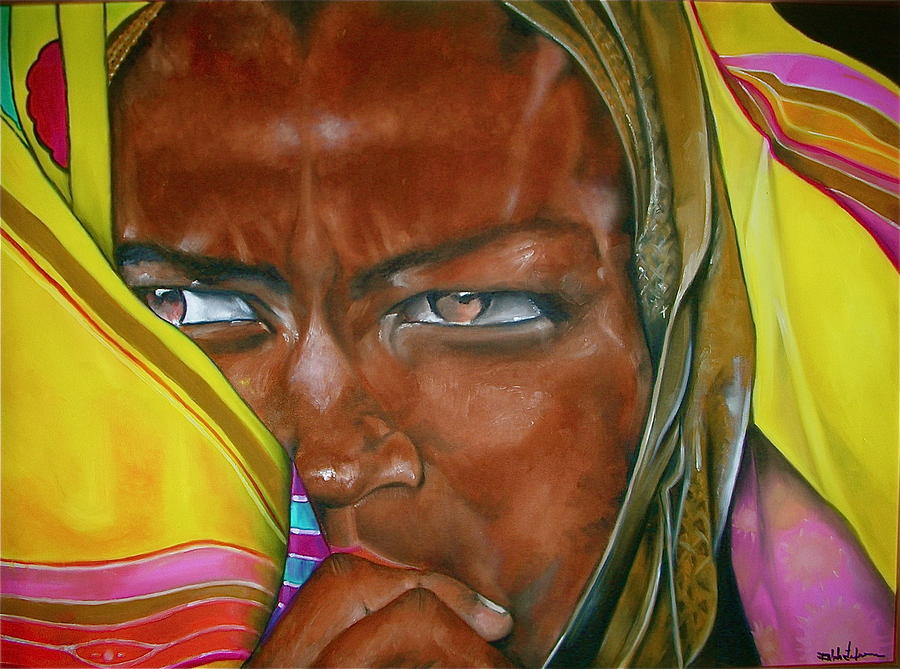 Africa Painting - African Princess by Ralph Lederman
