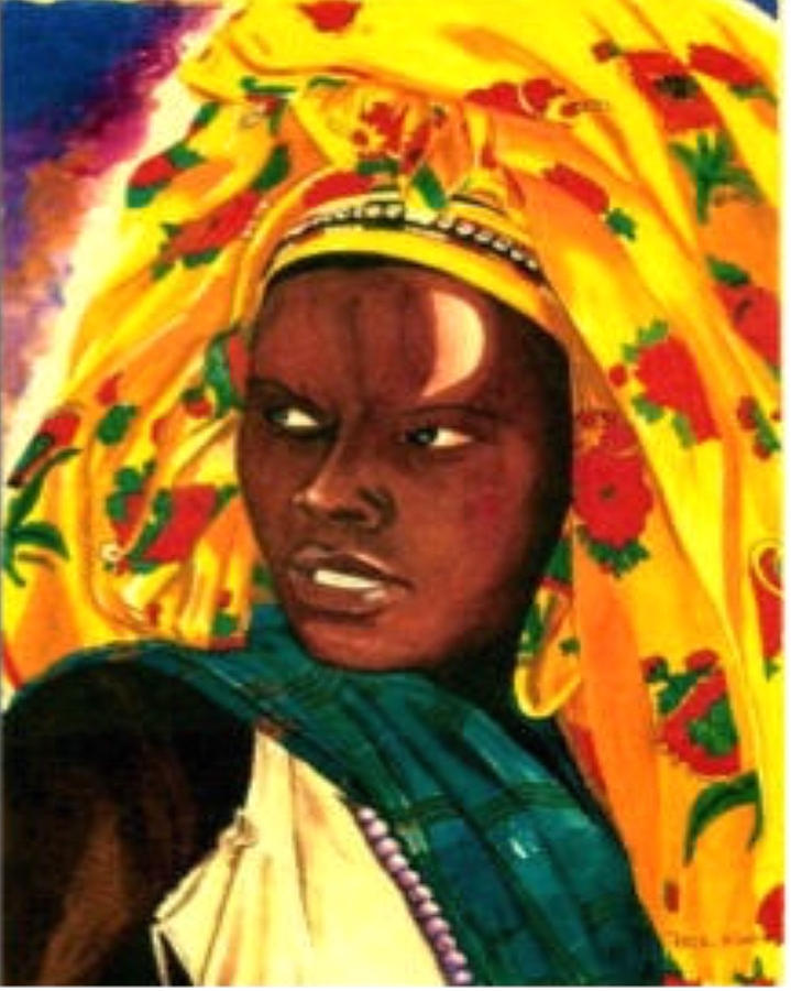 African Queen Painting By Phil King