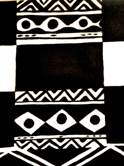 Painting - African Rhtymn by Robert Daniels