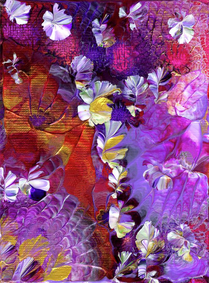 African Violet Awake #5 by Nan Bilden