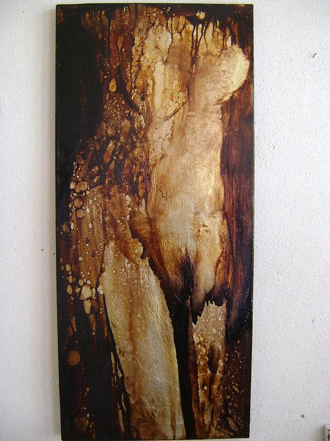 Nude Painting - Afrodita by Nelu Gradeanu