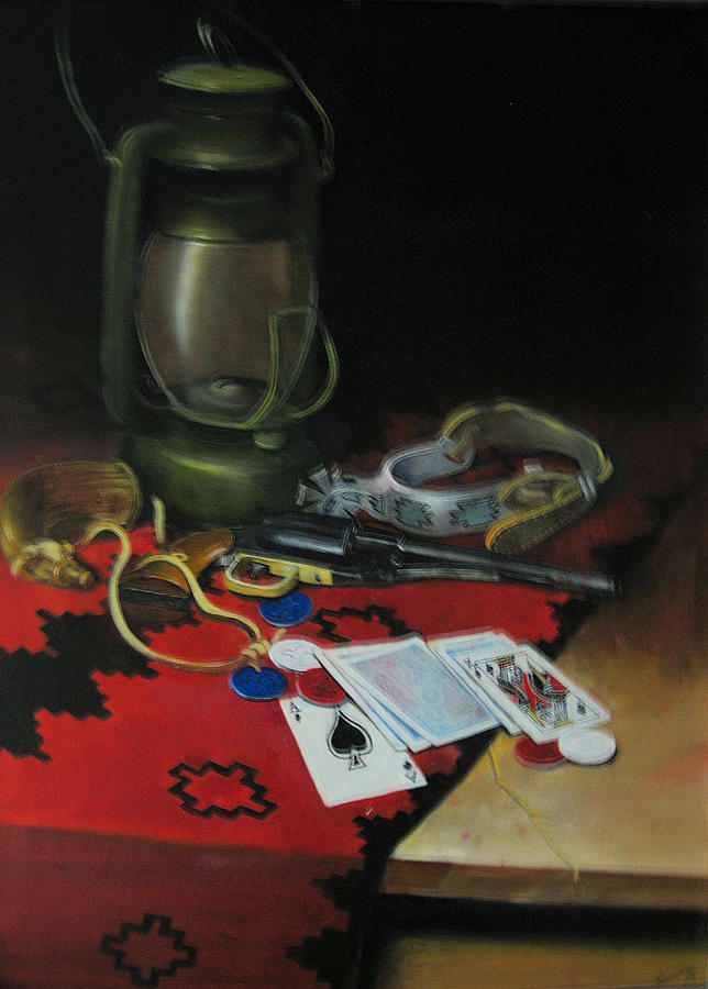 Stillife Painting - After A Long Day by Robert Carver