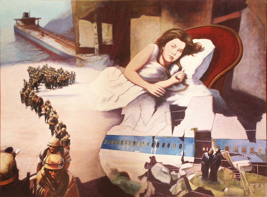 Vision Of The Future Painting - After Alice by James LeGros