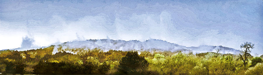 Landscape Painting - After An Early Spring Storm by Larry Darnell