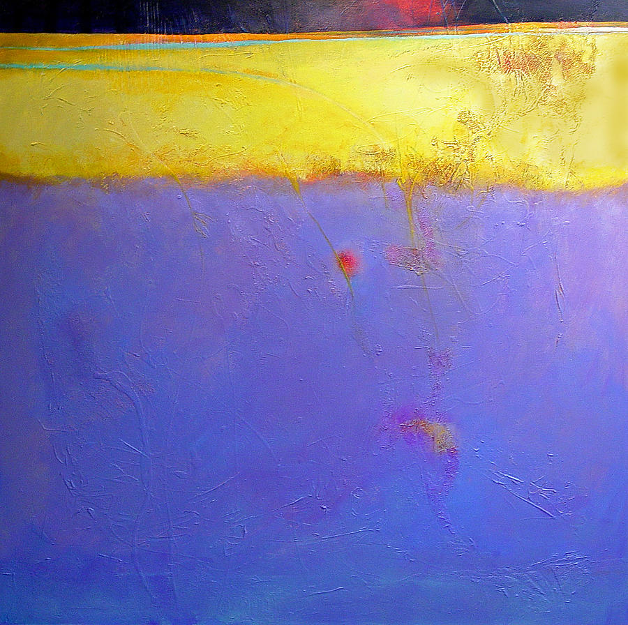 Abstract Painting - After Dark by Dale  Witherow