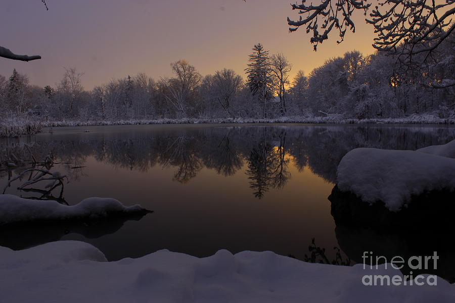 After Glow Photograph by Hanni Stoklosa