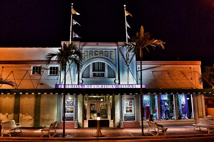 Arcade Theater Photograph - After Hours  by Kenny Brachle