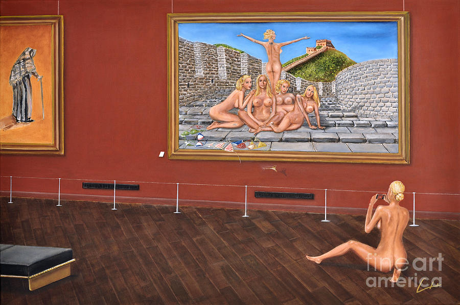 Ch Painting - After Hours Op. 23 No. 7 by CH Narrationism