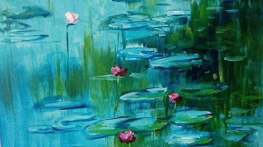 AFTER MONET by Kathy  Karas