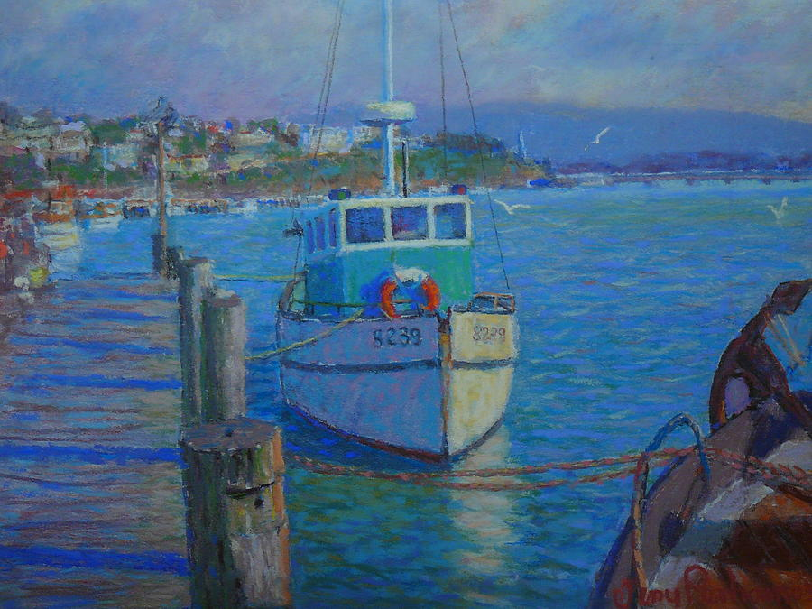 Harbour Pastel - After Rain Riverton by Terry Perham