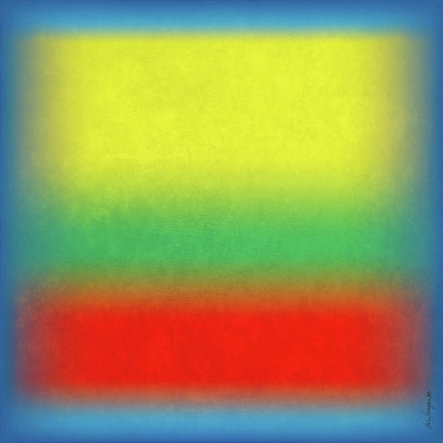 Abstract Digital Art - After Rothko 4 by Gary Grayson