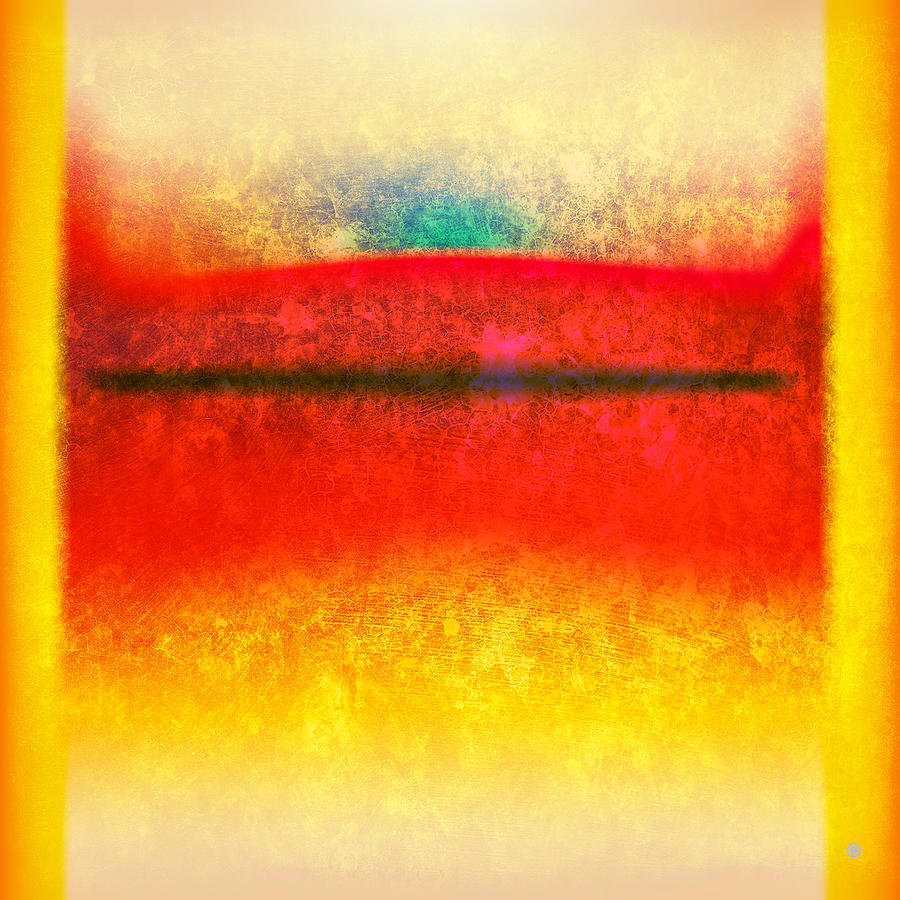 Modern Art Digital Art - After Rothko 8 by Gary Grayson