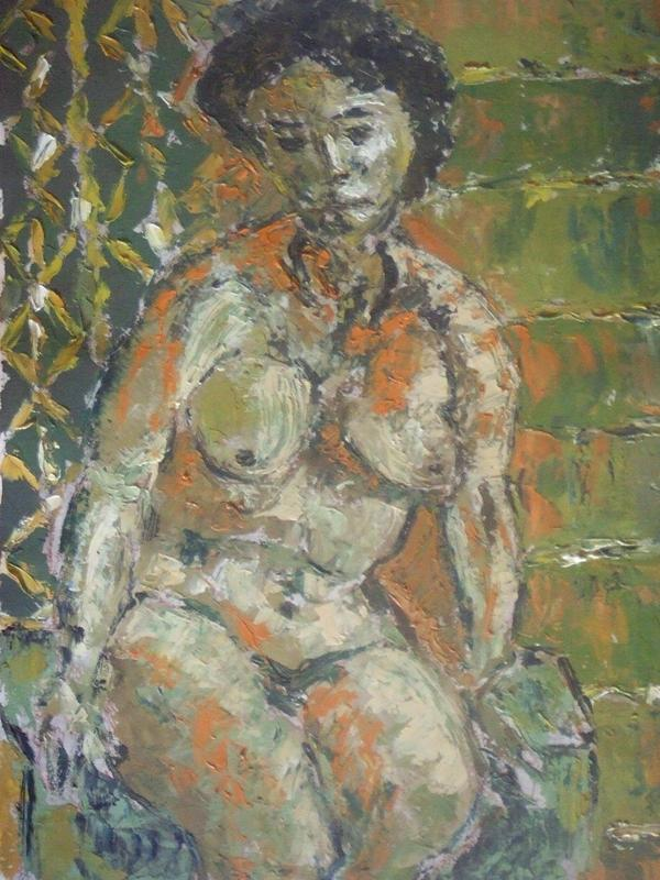 Nude Painting - After Shower No. 5 by Mauro Longordo