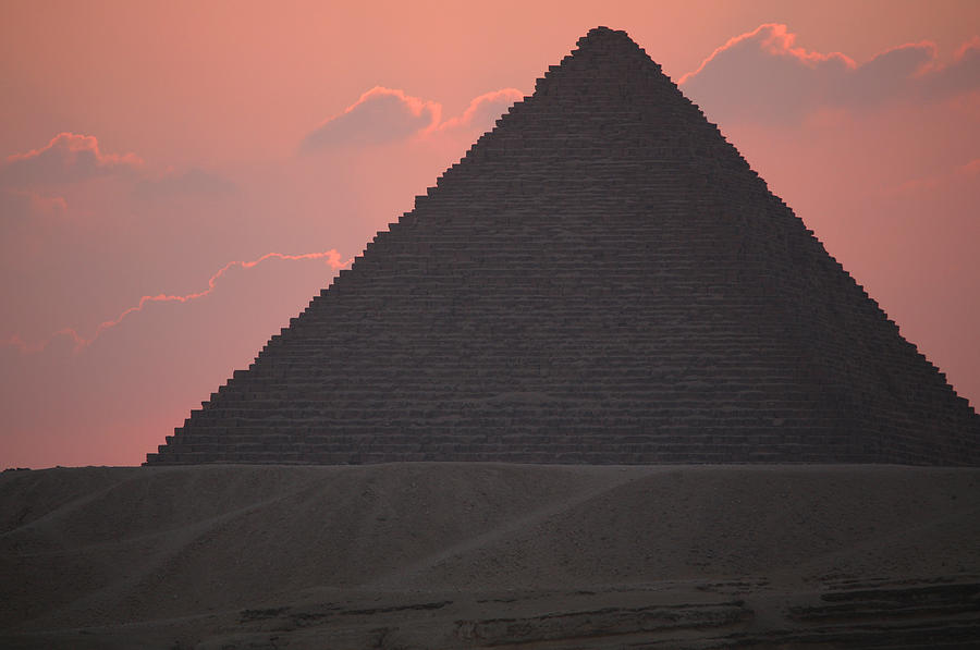Pyramid Photograph - After Sundown by Donna Corless