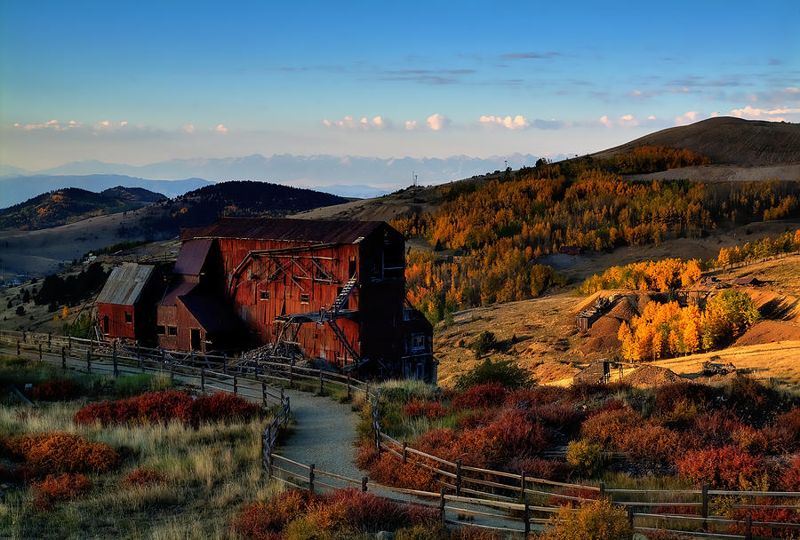 Colorado Photograph - After The Gold Rush by Tim Reaves