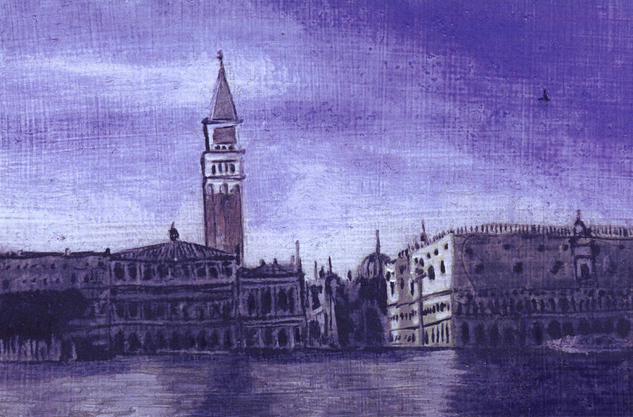 Landscape Painting - After The Pier At San Marco by Hyper - Canaletto