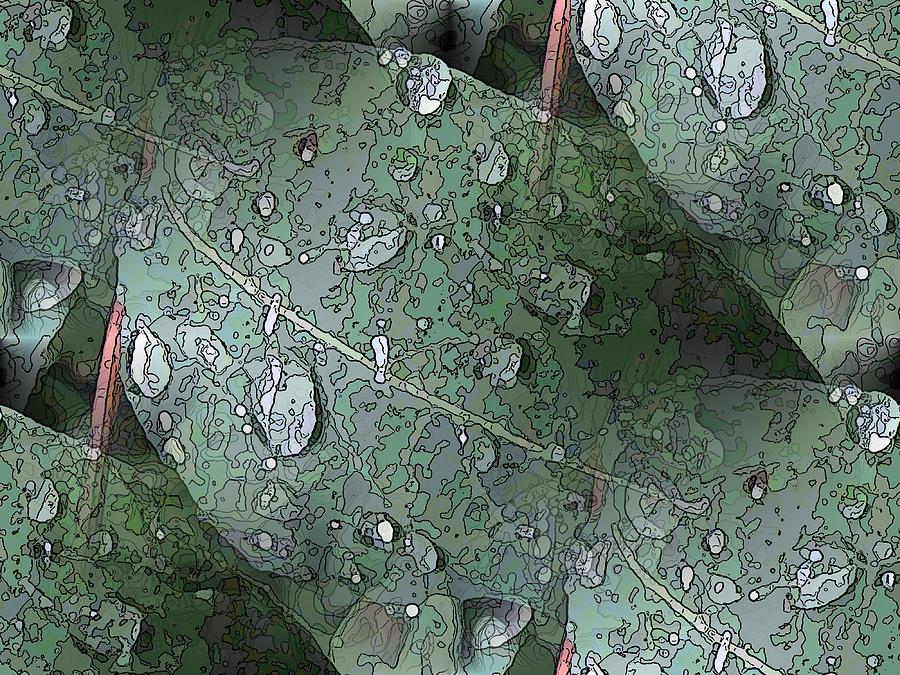 Rain Digital Art - After The Rain 4 by Tim Allen