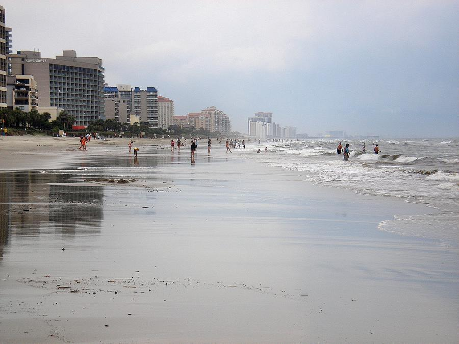 Myrtle Beach Photograph - After The Rain by Bill Noonan