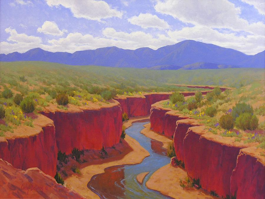 Cody Delong Painting - After The Rain by Cody DeLong