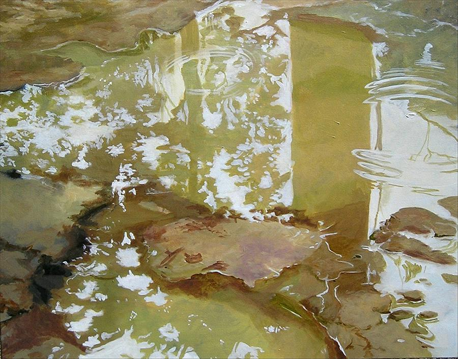 Rain Painting - After The Rain by Denise Ivey Telep