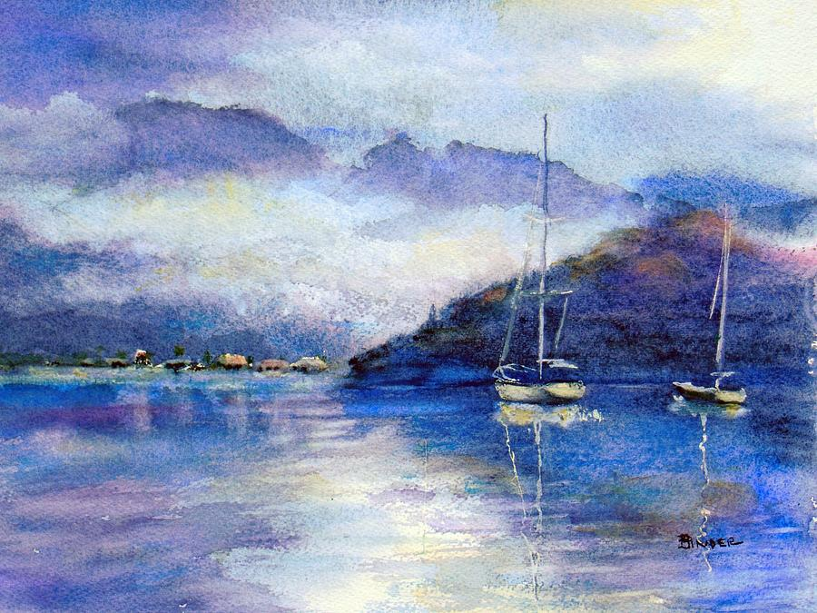 Baja Painting - After The Rain by Diane Binder