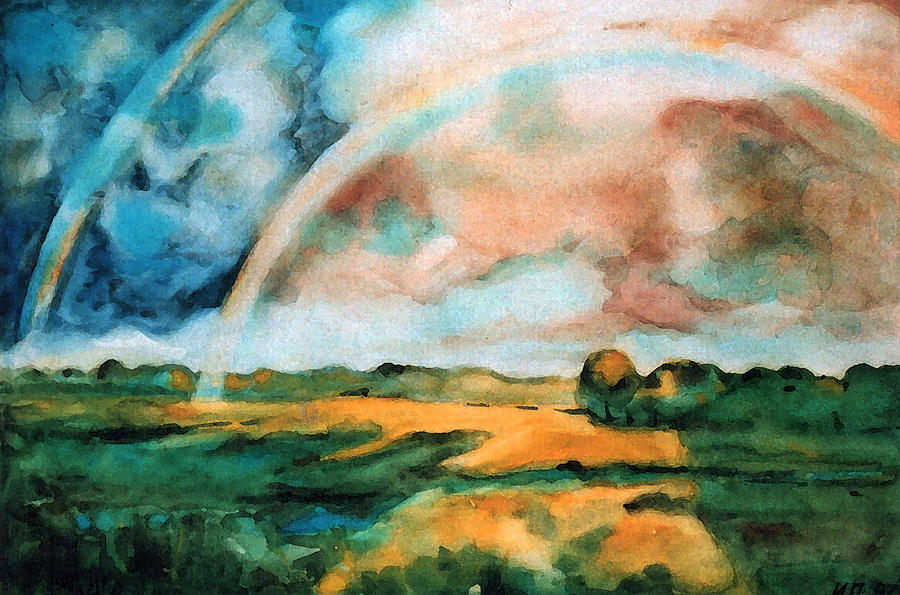 Landscape Painting - After The Rain by Iliyan Bozhanov