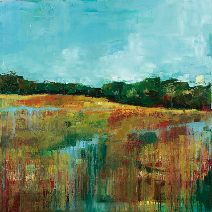 Landscape Painting - After the Rain by Michele Norris